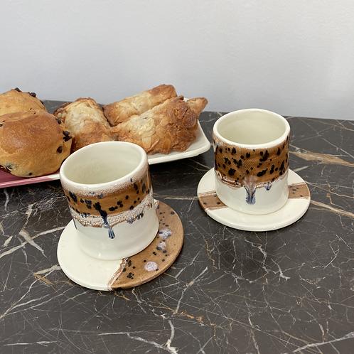 Tasses Caramel (par 2)