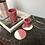 Thumbnail: Sous-tasses Rose Framboise (par 2)