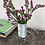 Thumbnail: Vase rayé Bleu Ciel