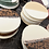 Thumbnail: Sous-tasses Beige (par 2)