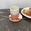 Thumbnail: Tasses Rose Framboise (par 2)