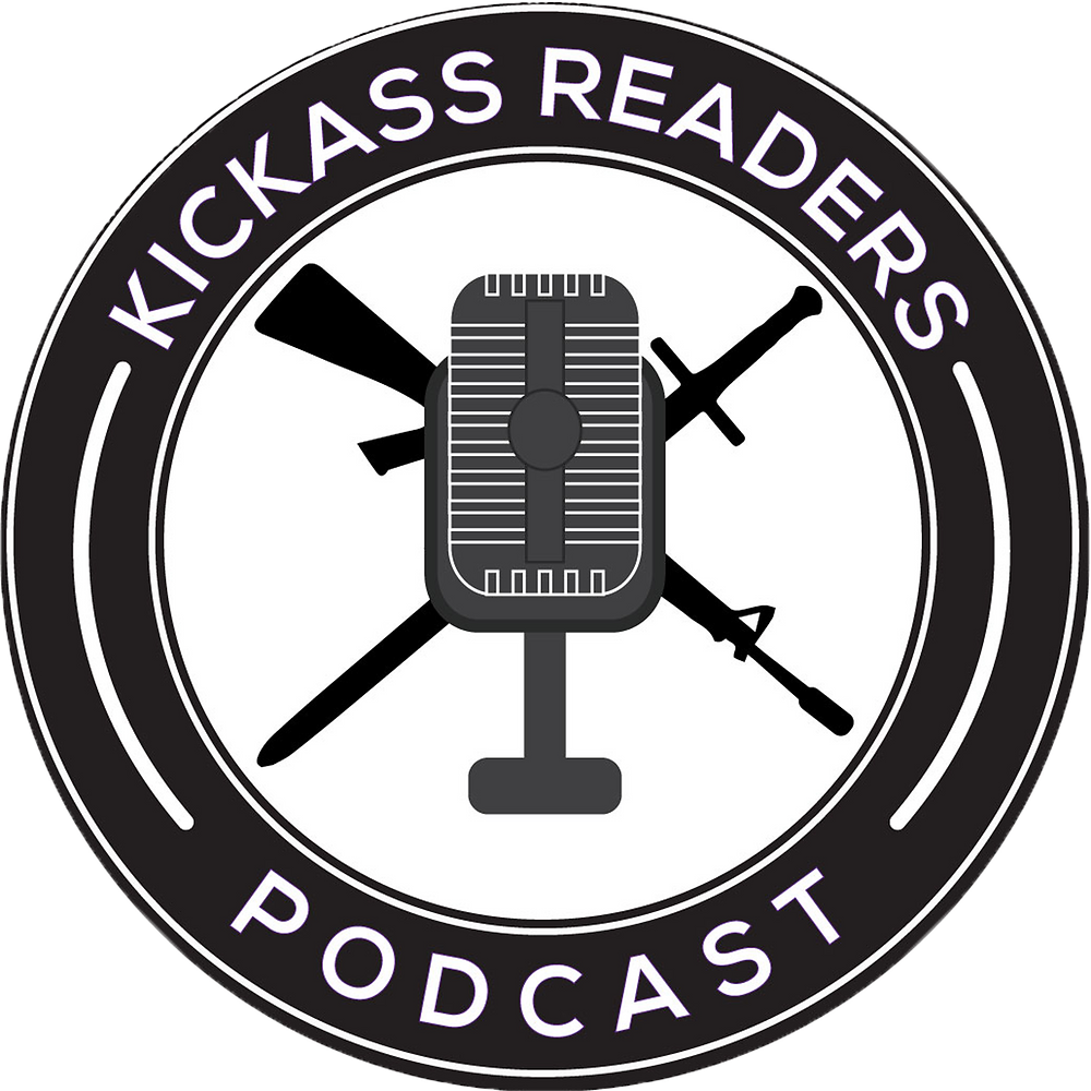 Kickass Readers Podcast Logo