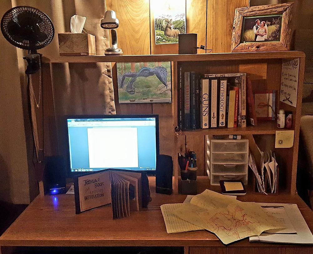 Joshua C Chadd's Desk
