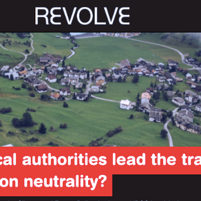 Can local authorities lead the transition to carbon neutrality? - Revolve