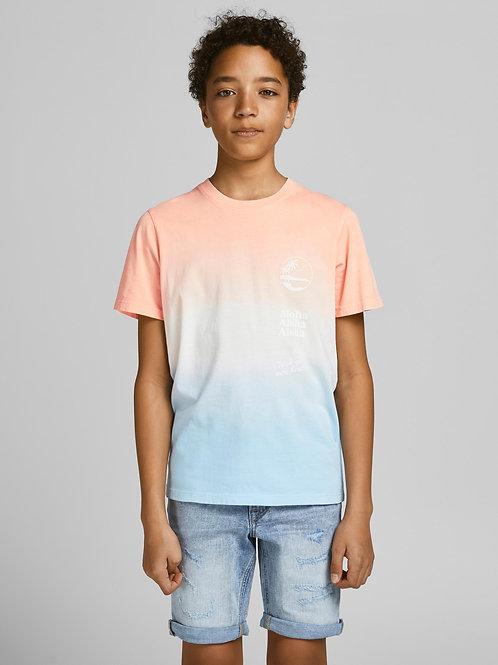 Jack&Jones Tie Dye Print T-shirt Aloha