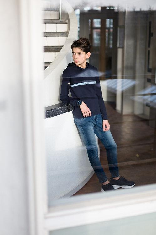 LEVV Boys Sweater Hooded Klaas