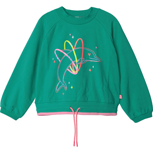 Billieblush Sweater Dolphin