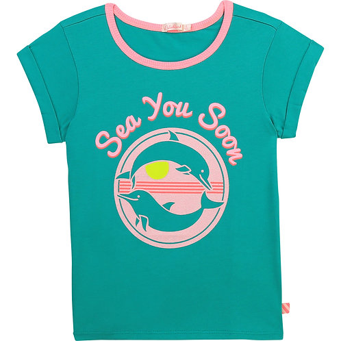 Billieblush T-shirt Sea You Soon
