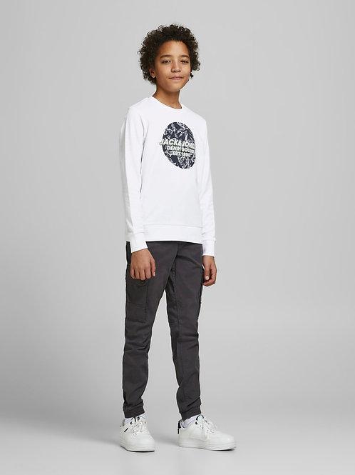 Jack&Jones Sweater Jorlefo White