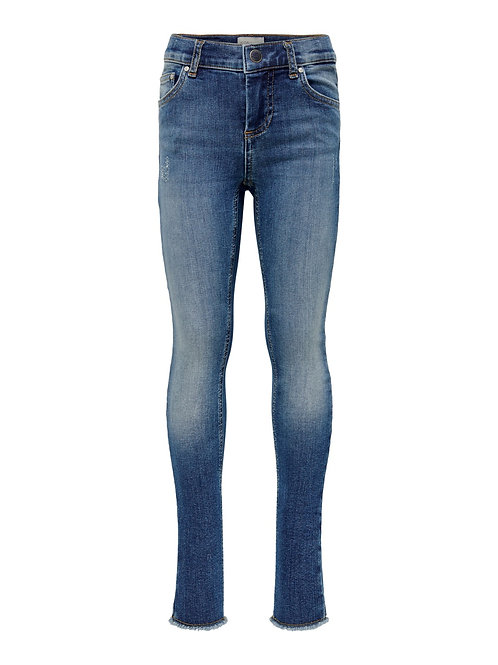 KIDS ONLY Skinny Raw Jeans