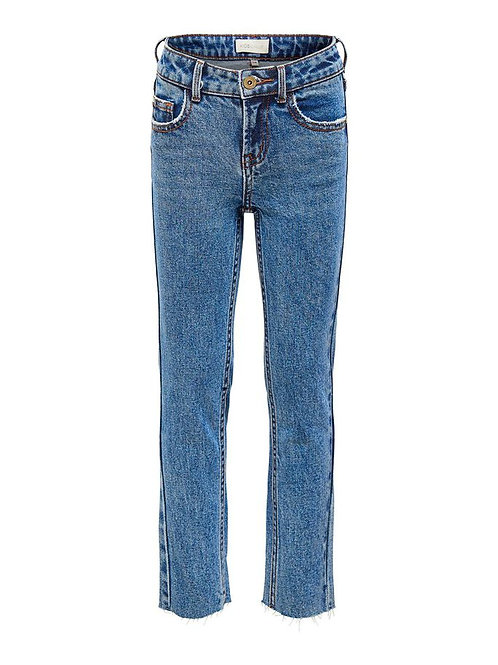 KidsOnly Konemily Ankle Straight Fit Jeans