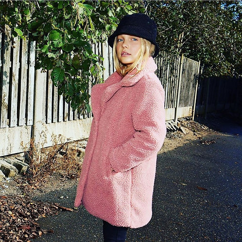 KidsOnly Sherpa Coat Dusty Rose