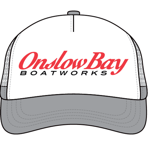 Onslow Bay Printed Trucker Hat