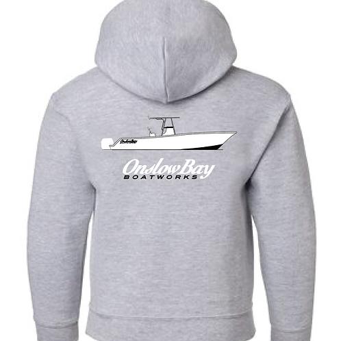 Onslow Bay Logo Hoodie