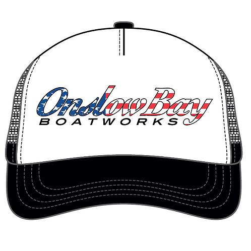Onslow Bay Flag Logo Trucker Hat