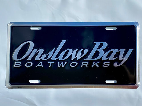 Onslow Bay License Plate