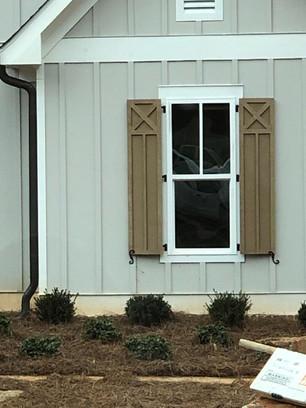 Shaker Style Window Shutter