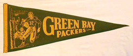 1930's Green Bay Packers Pennant