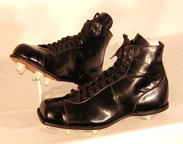 1930-40's Football Kicking Shoes - very unusual