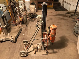 WEKA DK22 Drill Motor includes M5 Stand and Carriage