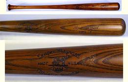 1920's Draper & Maynard Major League Model Baseball Bat