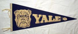 1930's Yale University Football Pennant