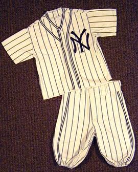 1950's New York Yankees Uniform Youth