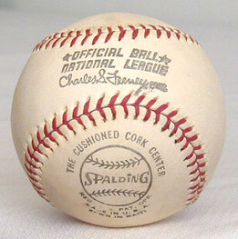 1970's Spalding Official National League Feeney Baseball, MINT!