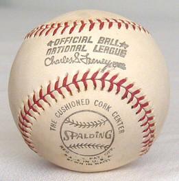 1970's Spalding Official National League Feeney Baseball, MINT!