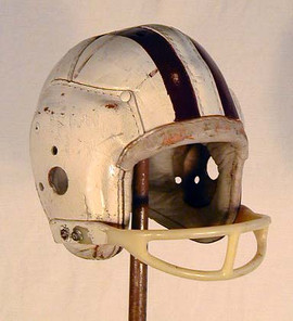1930-40's MacGregor H612 Leather Football Helmet