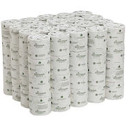 GP Envision White 2-Ply Embossed Bathroom Tissue, 550 Sheets/Roll, 80 Rolls/Case – 19885