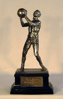 16inch 1933 Figural Basketball Trophy