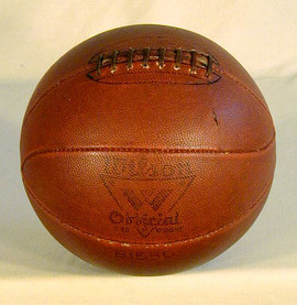 1930's Vintage Laced Basketball