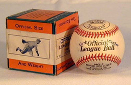 "This is a 1920-30's Waite Hoyt ""Endorsed"" Baseball, MINT in the Original Box. This is an exceedingly rare baseball having the box which features an unmistakable full body image of Hall of Fame pitcher, Waite Hoyt on the seal. As the above pictures indicate, the images of Hoyt appear to be almost exactly the same. While the baseball itself does not carry a Waite Hoyt facsimile signature, the image on the box is undeniably Hoyt. It is one of the finest and most unique endorsed baseballs we have ever handled. The baseball itself remains in solid MINT condition and the box is EX-MT. Together they make a striking display. Waite Hoyt enjoyed pitching for an incredible 21 years in professional baseball! His glory years were with the New York Yankees where he pitched in seven different World Series Championships!"