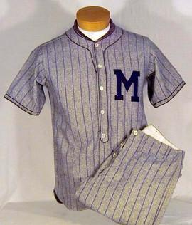 1920-30's Baseball Uniform
