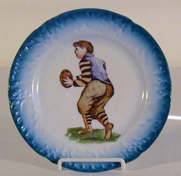 1900-10 University of Princeton Football Plate