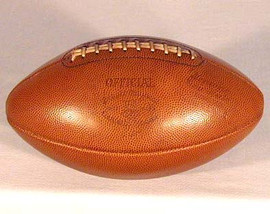 1920 - 1930's Draper & Maynard Official Football, GEM MINT