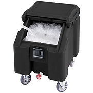 Cambro ICS100L4S110 – Ice Caddies, Black, 100 Lbs. Cap.