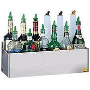 San Jamar Speed Rack, Holds (20) Quart/Liter Bottles, Double Tier – B5542Dc