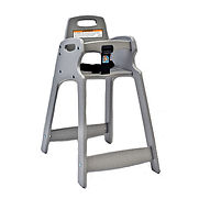 Koala Kare ECO Chair High Chair, Light Gray, Assembled, 1-Pack
