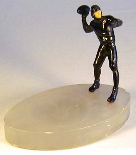 1920's Figural Football Player Ashtray – Coin Holder