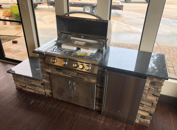 6' Grill Island: Standard Features