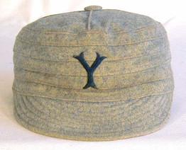 1900-04 Yale University Pillbox Baseball Cap