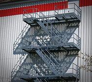 Custom Access Stairs