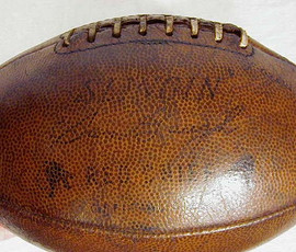 1930's Sammy Baugh Endorsed Player Model Football