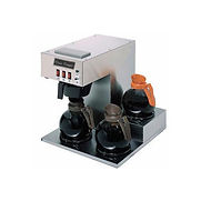 Classic Coffee Concepts GB360 – Coffee Brewer, 3 Warmers, Stainless Steel, Separate On/ Off Switches