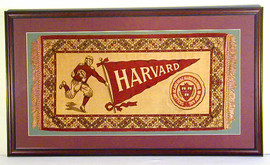 1900-1905 Harvard Football Fatima Premium Framed