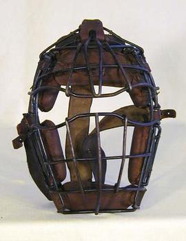 "1910's Draper & Maynard ""Goggle-Eye"" Catcher's Mask"