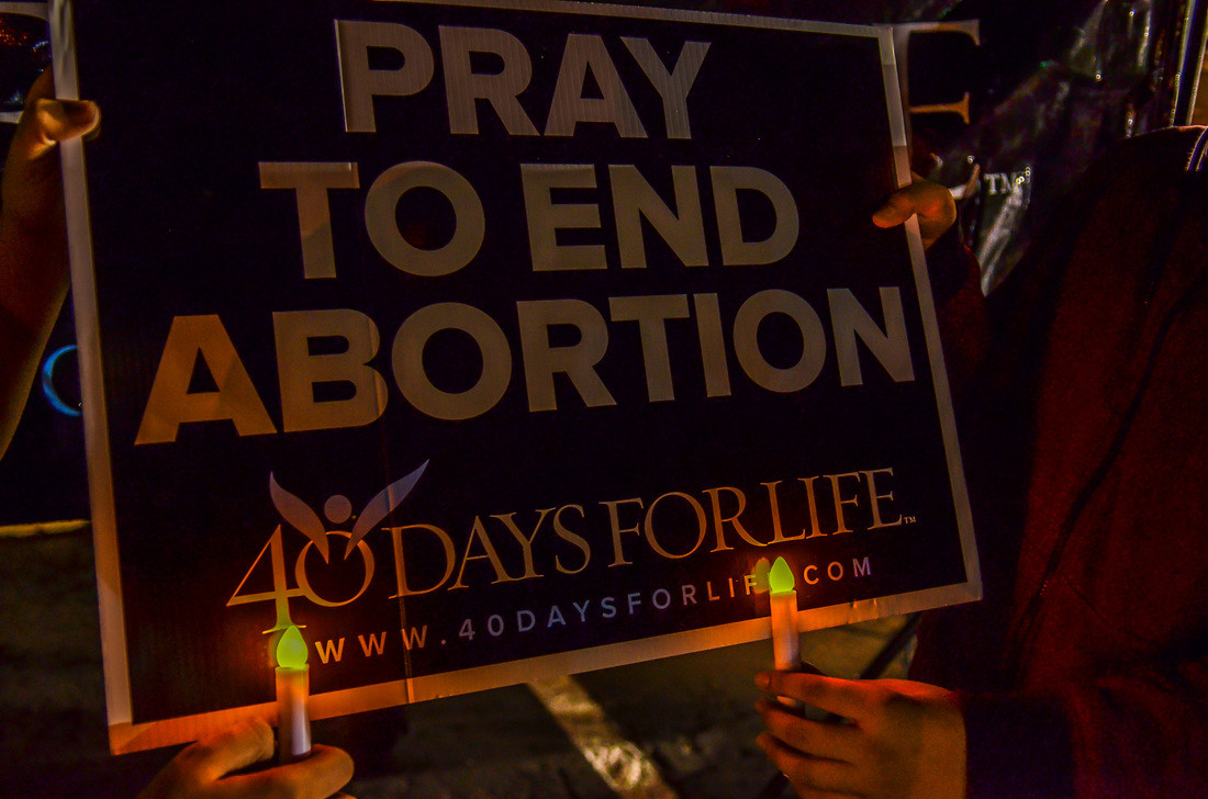 40 Days for Life is committed to peacefully seeking an end to abortion. It does this through prayer and fasting, peaceful vigil outside local abortion facility, and community outreach. The next campaign begins February 26, 2020. Learn more and sign up to participate at www.40daysforlife.com! (PhotographybyXavierMena.com)
