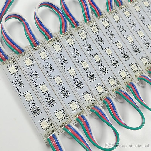 RGB MODULES 25PCS 1W